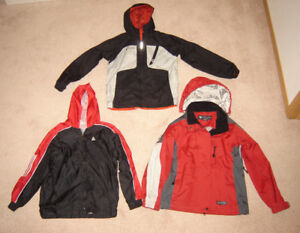Boys Fall and Winter Jackets, Clothes - sz 10, 12, 14, M, L
