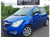 2010 (60) VAUXHALL AGILA 1.2 DESIGN AUTO - VERY LOW MILES - FULL S/HISTORY