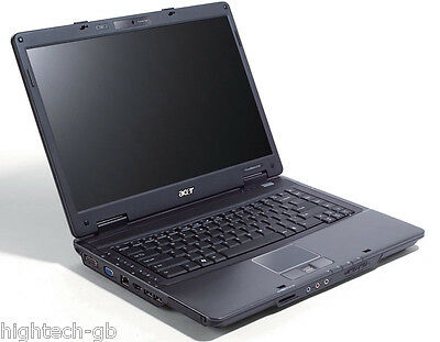 "CHEAP ACER TRAVEL 5730 15.4"" Intel Core 2 Duo 4GB RAM 160GB HDD Webcam WIN7 HDMI"