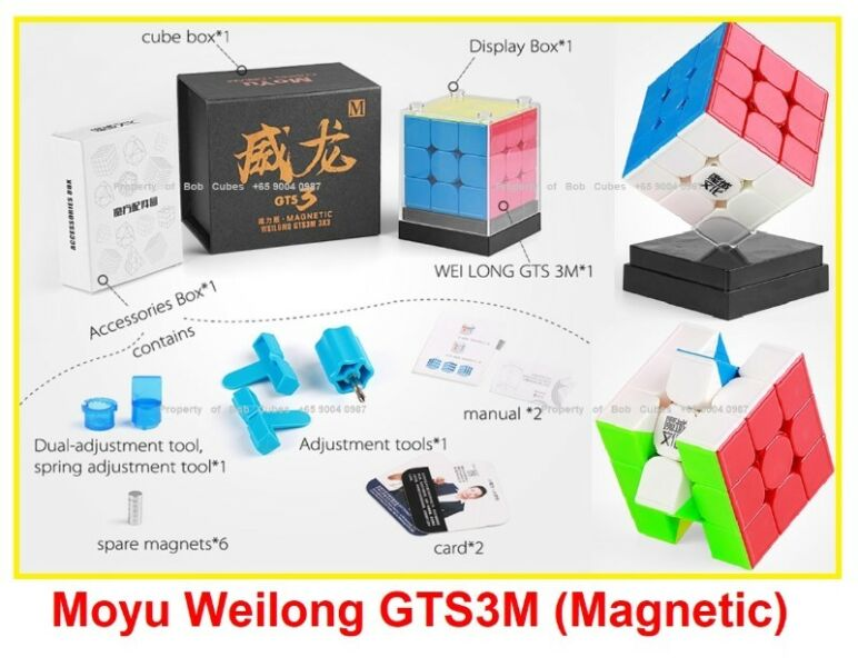 - Moyu Weilong GTS3M (Magnetic) 3x3 for sale in Singapore