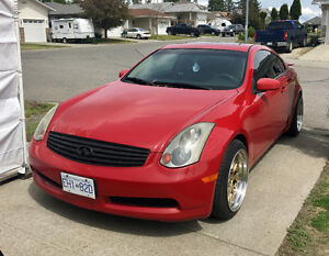 2003 Infiniti G35 6MT Coupe Coupe **NEED GONE**