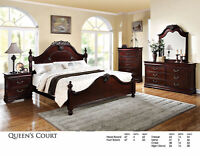 8PCS QUEEN SIZE BEDROOM SETS STARTING FROM $799 NO TAX