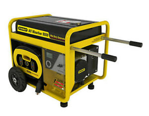 New Stanley 8000w all weather generator