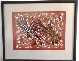 Aboriginal art painting