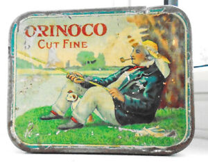 Vintage 1930/40's Orinoco (Tuckett Tobacco Co. Limited) Tin