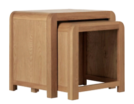 Wooden Nest of Coffee Tables only £75. Real Bargains Clearance Outlet