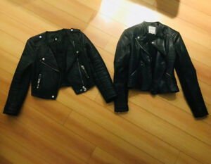 Size small women's leather jackets $200
