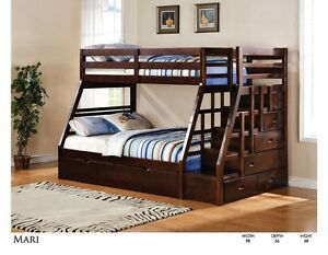 SOLID WOOD BUNKBED STARTING FROM $299 LOWEST PRICE GUARAN Kitchener / Waterloo Kitchener Area image 7