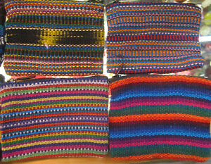 Lovely Woven Coin Purses