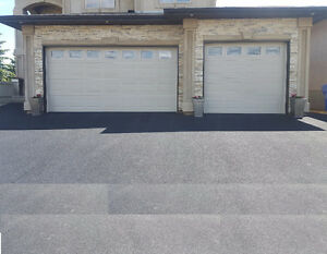 Garage Door - Used 16 x 8 & 9 x 8, Sandstone + Full row of windo