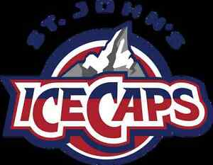 ICE CAPS TICKETS CENTER ICE Section 109 (2 seats or 3 seat sets) St. John's Newfoundland image 1
