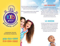 Garderie active: Kid Fit LONGUEUIL