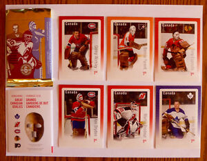 TIMBRES/ STAMPS HOCKEY POSTE CANADA