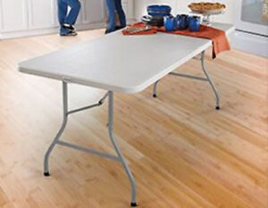 Long Fold Up Table Available to Rent