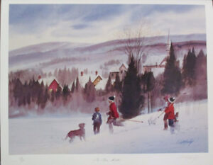Limited Ed Lithograph Print by Thomas McNeely!