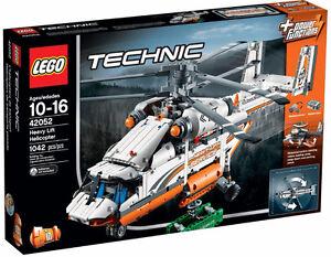 Lego Technic Heavy Lift Helicopter - 42052