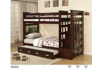 SOLID WOOD BUNKBED STARTING FROM $299 LOWEST PRICE GUARAN Kitchener / Waterloo Kitchener Area image 6