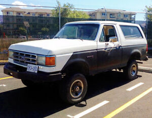 1988 Ford Bronco $2000 obo or trades