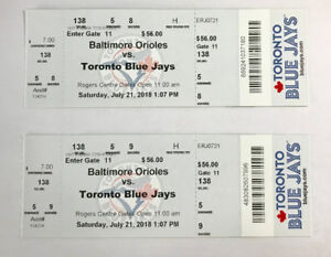 Toronto Blue Jays tickets for July 21st 2018
