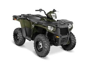 2016 POLARIS SPORTSMAN 450 ATV - 5 YEAR WARRANTY & 2500lb WINCH