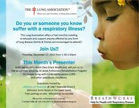 The Lung Association's BreathWorks Support Group