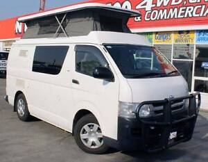 2008 TOYOTA HIACE TRH201R 2.7L AUTO CAMPER POP TOP Cannington Canning Area Preview