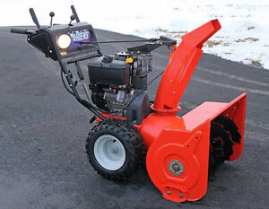 Mobile Snowblower Repairs - Season Tune Ups NOW! Call Us today Strathcona County Edmonton Area image 4