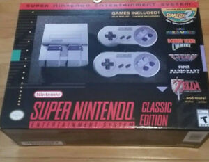 Authentic Super Nintendo Classic - Brand new with Receipt