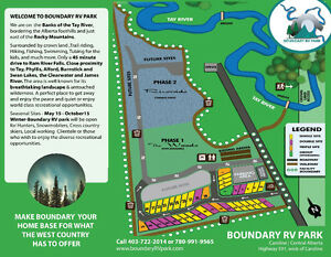BOUNDARY RV PARK/LOTS FOR LEASE/WEST COUNTRY/QUAD IN QUAD OUT Edmonton Edmonton Area image 3