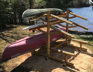 Six Unit Paddle Sports Support Rack