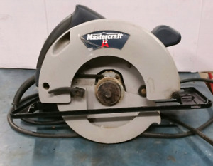 7 1/4 inch electric hand saw by Mastercraft