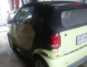 2005 Smart Fortwo Convertible Cabriolet