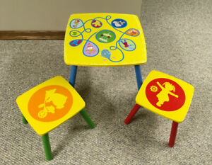 In the Night Garden Wooden Table