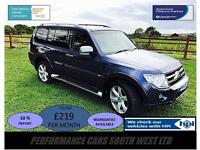 Mitsubishi Shogun 3.2 DI-DC Diamond 5dr £10,995 FSH, 2 KEYS, 6 MONTH WARRANTY