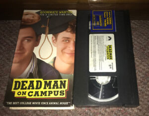 Deadman on Campus (1998) Cult Comedy VHS