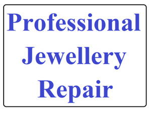 Professional Jewellery and Watch Repair