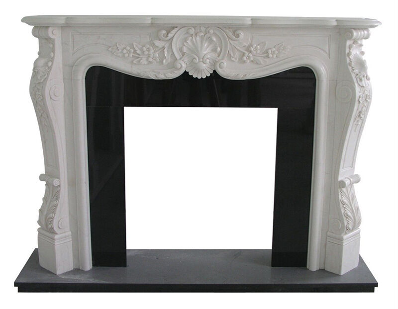 french antique fireplace mantel - Antique Fireplace Mantels