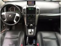 LHD LEFT HAND DRIVE CHEVROLET CAPTIVA 2.0 VCDI L.E AUTOMATIC 7 SEATER FULLY LOADED SAT NAV LEATHER