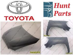 Toyota Highlander 2011 2012 2013 Hood Fender Liner Inner Spoiler Engine Under Car Splash Shield
