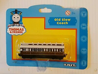 THOMAS & FRIENDS VINTAGE ERTL OLD SLOW COACH DIECAST NEW Tank engine train 34442