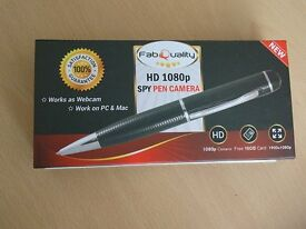 Hidden Camera Spy Pen, with refills and 16GB sd card.