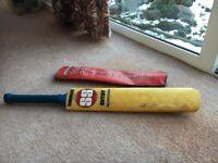 Sunridges Indian cricket bat & bag - barely used