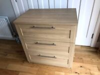 Changer/dresser Mamas & Papas Rialto - natural oak