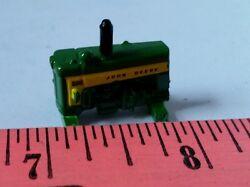 1/64 ERTL custom John deere model 430 stationary engine from tractor farm toy
