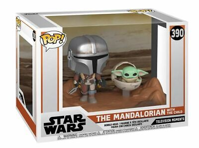 MANDALORIAN and THE CHILD Funko Pop! Star Wars The Mandalorian BABY YODA Vinyl