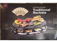Andrew James Traditional Raclette - New, Unused and in box
