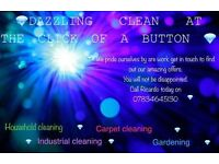 DAZZLING CLEAN AT THE CLICK OF A BUTTON