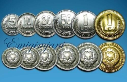ALBANIA 1988 - SET COINS UNC