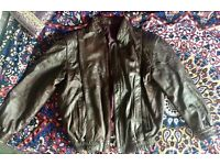 Vintage Brown Leather Jacket, in good shape, never been worn before