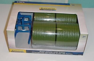 New Holland Bale (1/16 New Holland Bale Mover W/4 Bales NIB!)